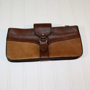 Vintage Rolfs Leather Clutch Long Wallet Bag